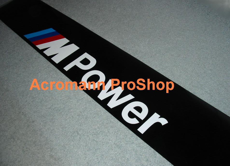 M Power Windshield Decal (Style#1)